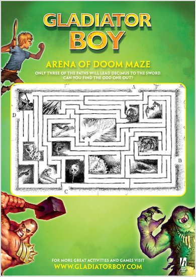 Gladiator Boy Maze