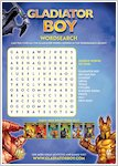 Gladiator Boy Wordsearch