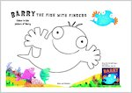 Barry the Fish with Fingers Colouring Activity (1 page)
