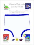 Aliens in Underpants: Design Your Own Pants (1 page)