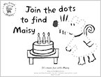 Dot-to-dot with Maisy