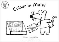 Colour in Maisy!