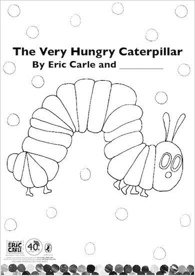Colour in The Very Hungry Caterpillar!