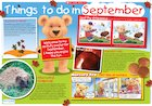 Things to do in September – poster