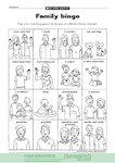 Family bingo (1 page)
