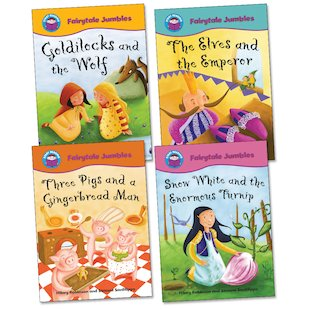 Start Reading: Fairytale Jumbles Pack (Book Band Purple)