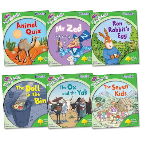 Songbirds Phonics Pack: Stage 2 More Stories (Book Band Red)