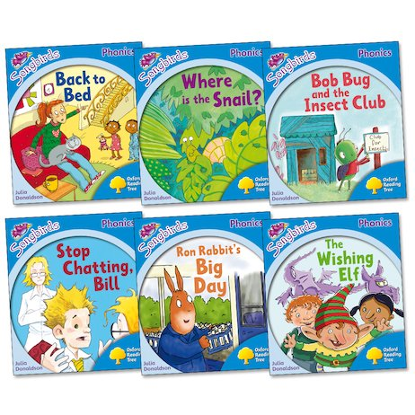 Songbirds Phonics Pack: Stage 3 More Stories (Book Band Yellow)