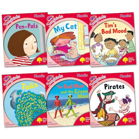 Songbirds Phonics Pack: Stage 4 More Stories (Book Band Blue)