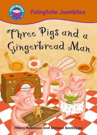 Fairytale Jumbles: Three Pigs and a Gingerbread Man