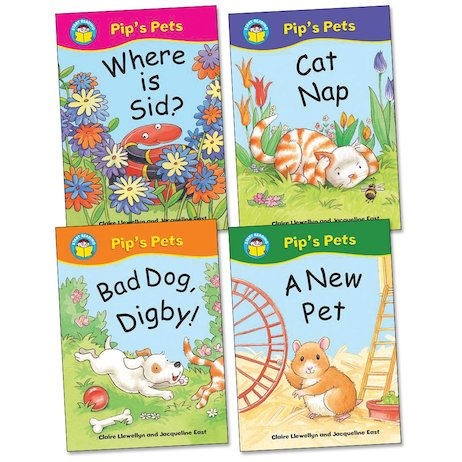 Start Reading: Pip's Pets Pack (Book Band Yellow)