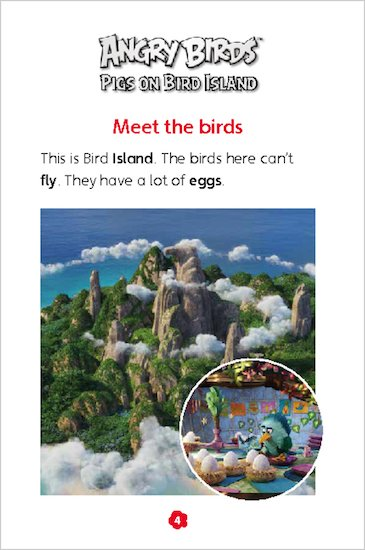 Angry Birds: Pigs on Bird Island sample chapter