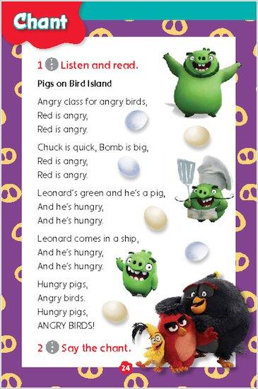 Angry Birds: Pigs on Bird Island sample chant