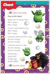 Angry Birds: Pigs on Bird Island sample chant (1 page)