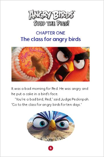 Angry Birds: Stop the Pigs! sample chapter