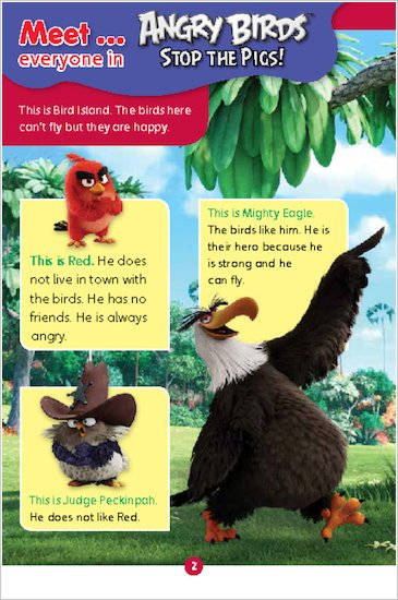 Angry Birds: Stop the Pigs! sample meet page