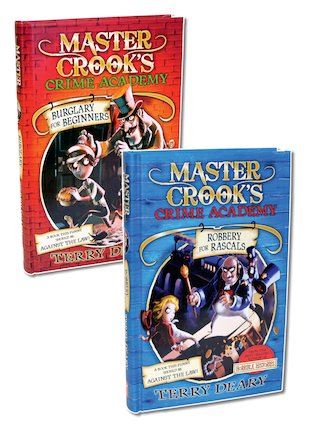 Master Crook's Crime Academy Pair