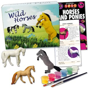 Paint Your Own Horses Pack