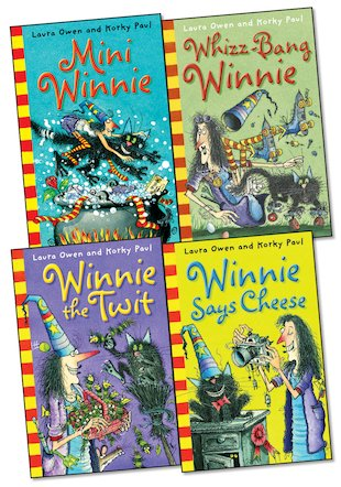 Winnie the Witch Readers Pack