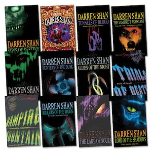 The Saga of Darren Shan Pack x 12
