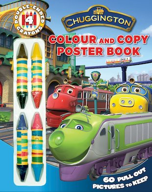 Chuggington Colour and Copy Poster Book