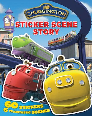 Chuggington Sticker Scene Story