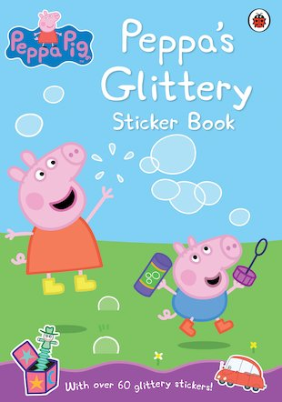 Peppa's Glittery Sticker Book