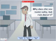 Interactive science: 'Why?'  - changing materials
