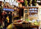 Through the keyhole: Victorian kitchen