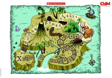 Treasure island map poster free primary ks1 teaching resource click to download gumiabroncs Choice Image