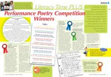 Performance poetry – Winning audio poems