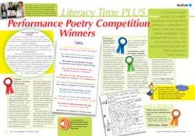 Performance poetry – Winning audio poems