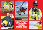 People who help us – poster