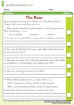 'The Roar' - comprehension (1 page)