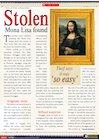 Stolen Mona Lisa found – information report