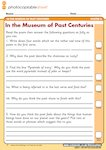 In the Museum of Past Centuries - comprehension (1 page)