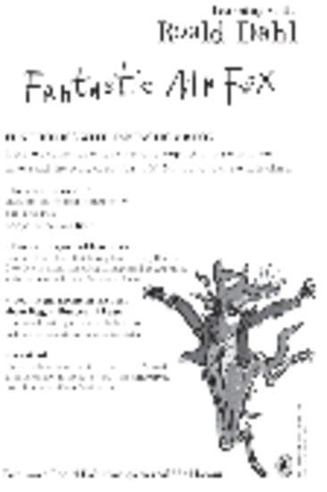 Fun Phonics with Fantastic Mr Fox