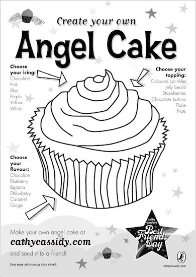 Cathy Cassidy Create Your Own Angel Cake