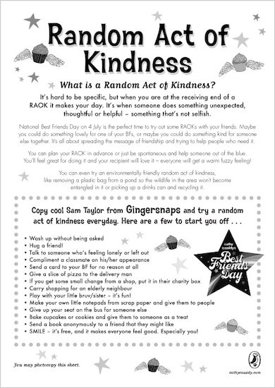 Cathy Cassidy Random Acts of Kindness