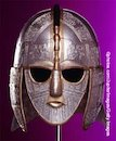 Replica of a helmet from Sutton Hoo