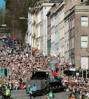 A St Patrick's Day parade