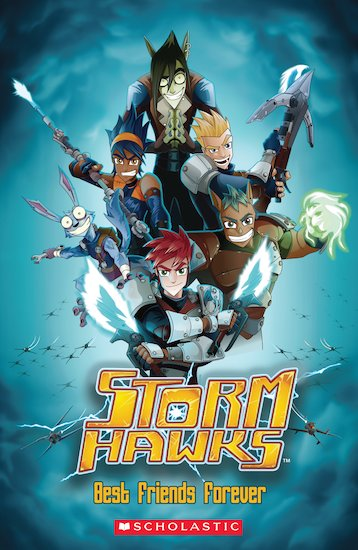 Storm Hawks (Book and CD)