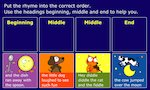 Retelling - Sequencing: Hey diddle diddle
