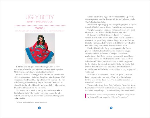 Ugly Betty: Sample Pages