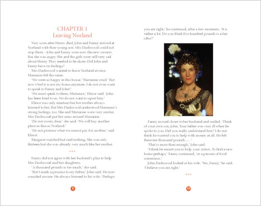 Sense and Sensibility: Sample Pages