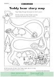 Teddy bear story map (1 page)