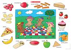 Picnic time for teddy bears – poster