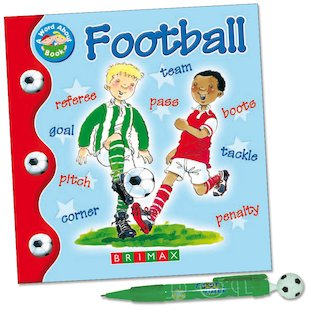 Football Book and Pen Pack