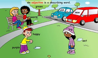 What is an adjective?: What's it like? – FREE Primary KS1