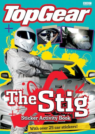 Top Gear: The Stig Sticker Activity Book